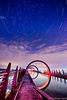 Falkirk Wheel Startrails