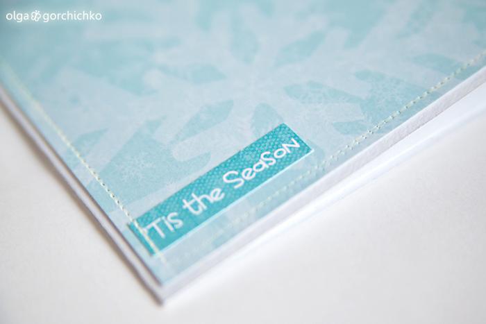 Конверт для диска с зимней фотосессии