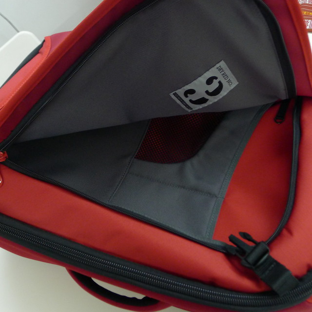 Dry Red No. 3 - Laptop Compartment