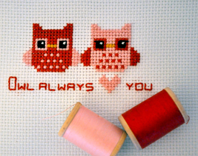 Owl Always <3 You Pattern