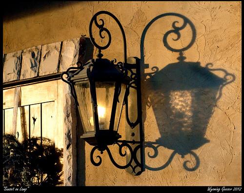 light sunset lamp utah iron lantern midvale gardnervillage theoldlamplighter wyominggeezer geezerphotography