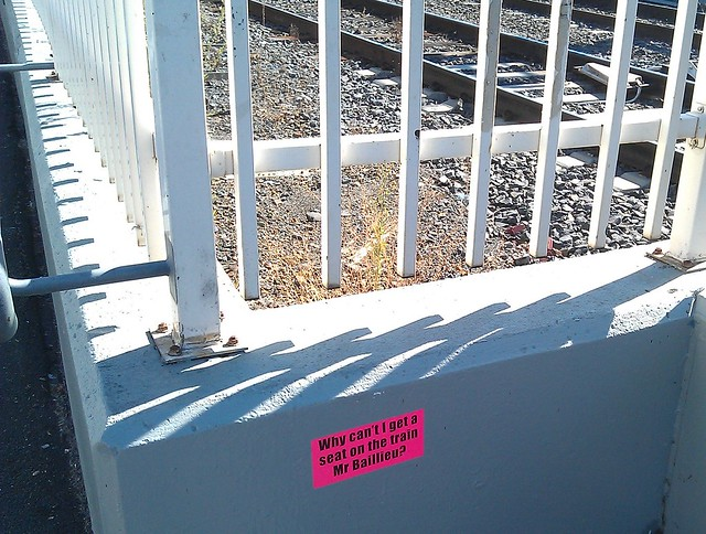 Sign at Bentleigh station