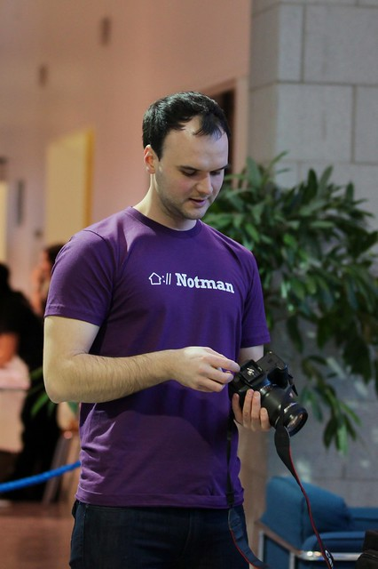 Ildar is a volunteer at Notman House