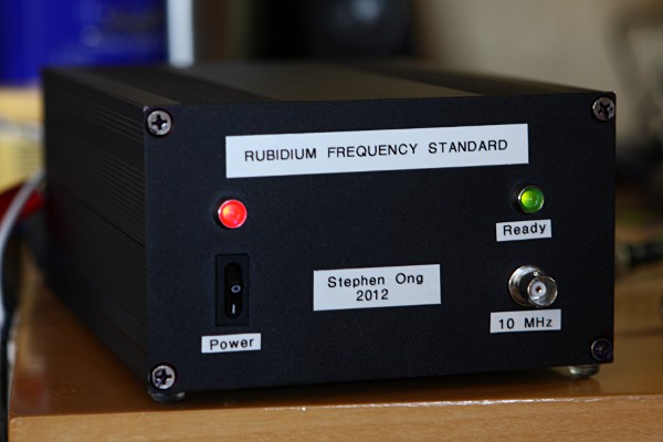 Rubidium Frequency Standard - Atomic Clock