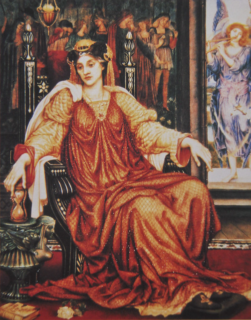 The Hour Glass - Evelyn De Morgan - 1904-05