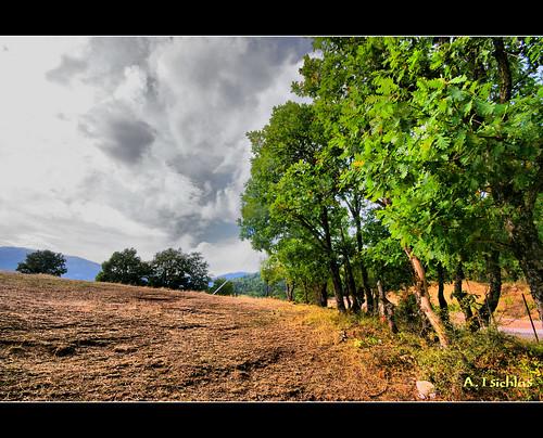 lake hdr ruralscene karditsa plastiras