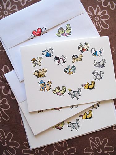 Love Birds Cards