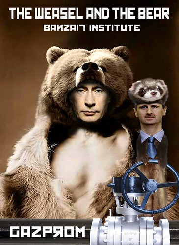 THE WEASEL AND THE BEAR by WilliamBanzai7/Colonel Flick
