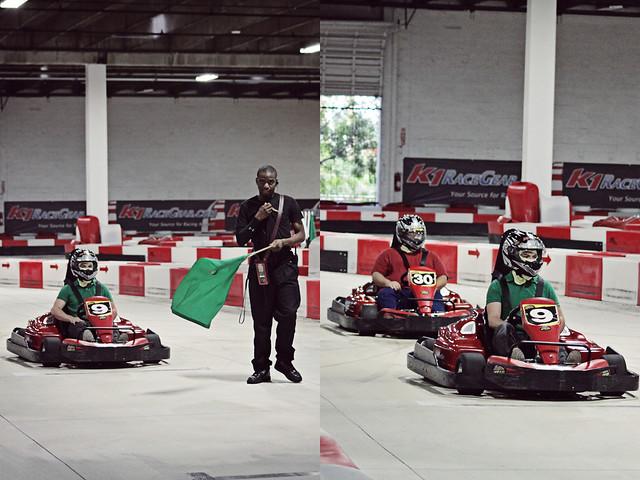 work go-karts 20 diptych