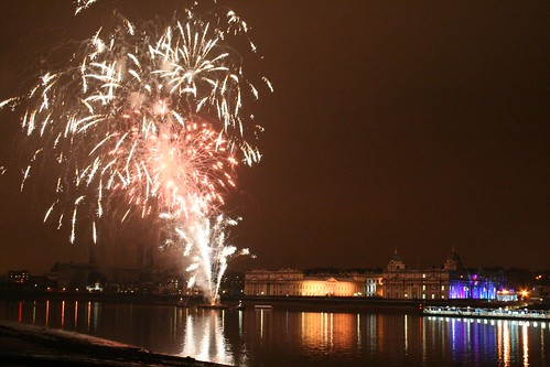 Royal Greenwich Celebrations Fireworks