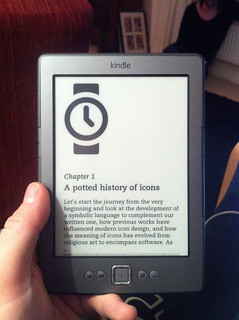Icon Handbook on Kindle