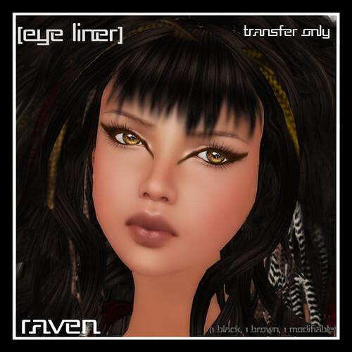 [mock] Raven Eyeliner Only by Mocksoup