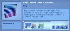 Suite Dreams Restro Wall Panel