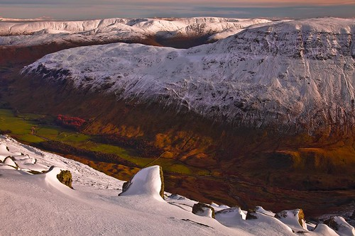 Winters Last Light in Grisedale Valley (Explored)