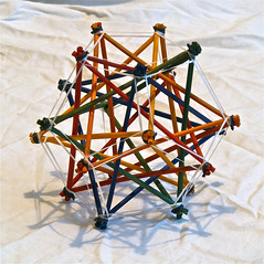 Compound of 5 Tetrahedra sharpened