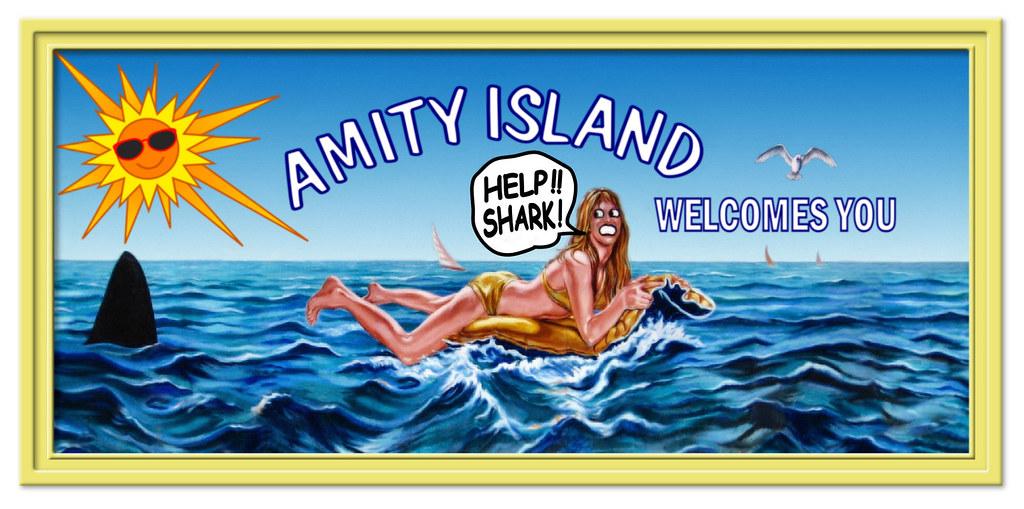 Amity Island Beach