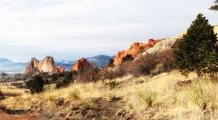 View near Conjunction of Dakota and Susan G. Bretag Trail