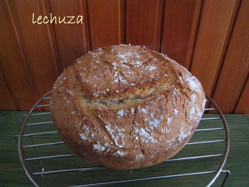Pan pyrex -enfriando
