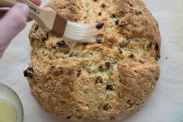 irish soda bread baked