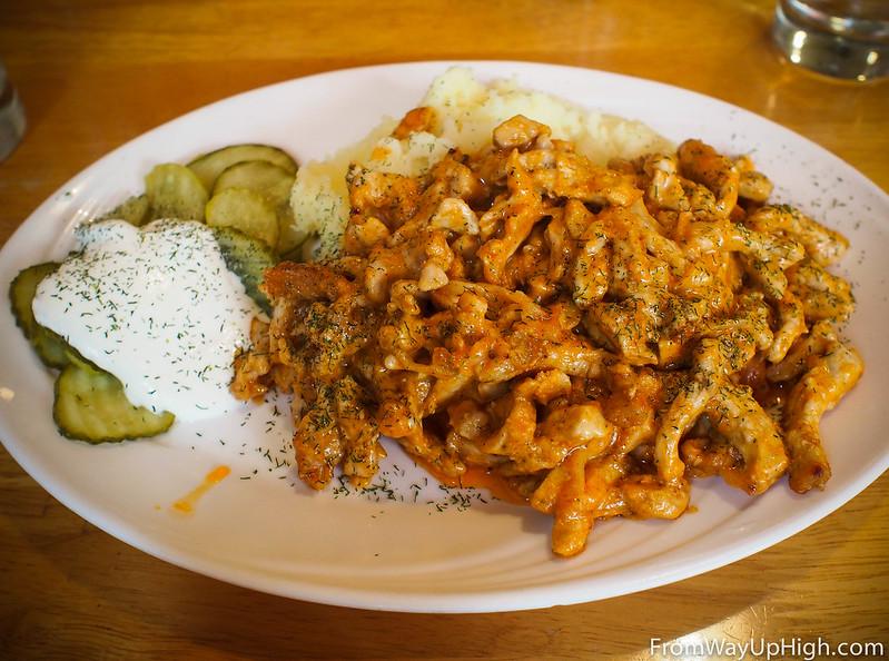 Helsinki restaurants Pelmenit stroganoff