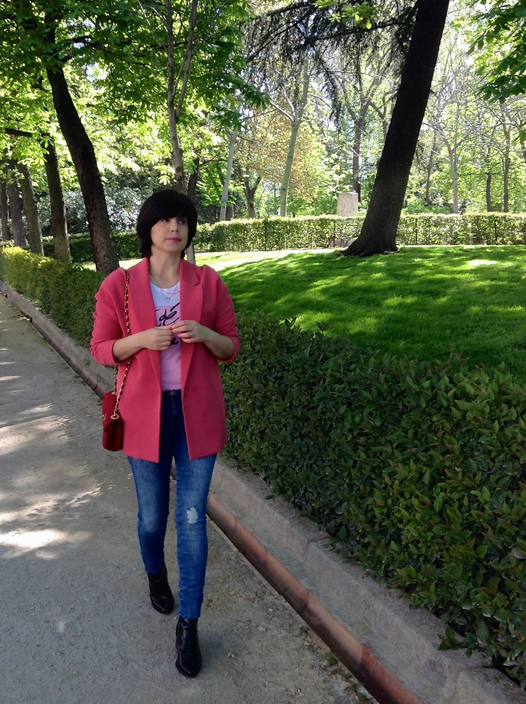 Madrid, España, Parque del Buen Retiro - Spain - Outfit of the Day - OOTD