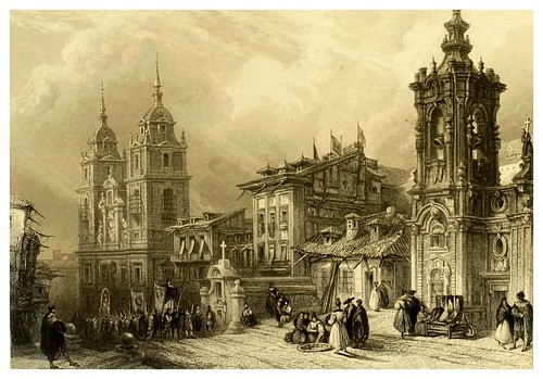 004-Noviciado de los jesuitas en Madrid-Picturesque views in Spain and Morocco…Tomo II-1838-David Roberts