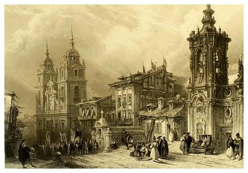 004-Noviciado de los jesuitas en Madrid-Picturesque views in Spain and Morocco…Tomo II-1838-David Roberts