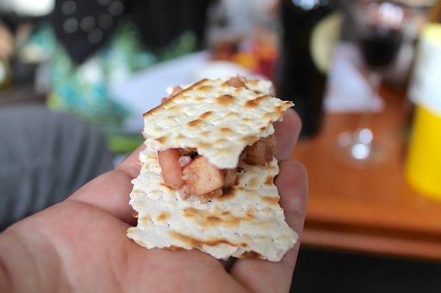 Matzoh sandwich