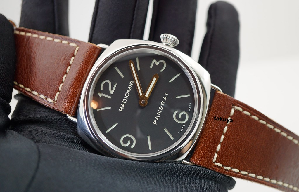 Fsot Panerai Pam 210 Radiomir Base Model Sandwich Dial M Series
