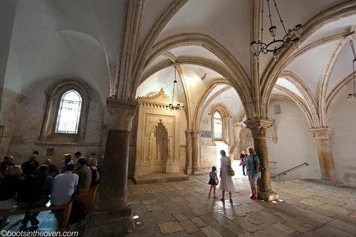 The (supposed) site of the Last Supper