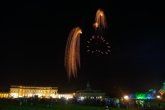 Fireworks at Hopetoun House