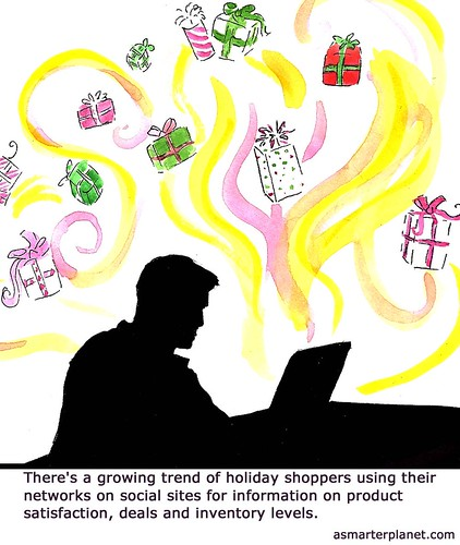 Social commerce and the holiday shopping rush