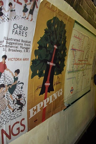 Poster showing Epping Ongar Line by Alan Perryman
