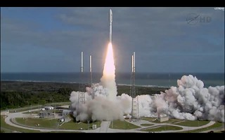 The Atlas V has cleared the tower