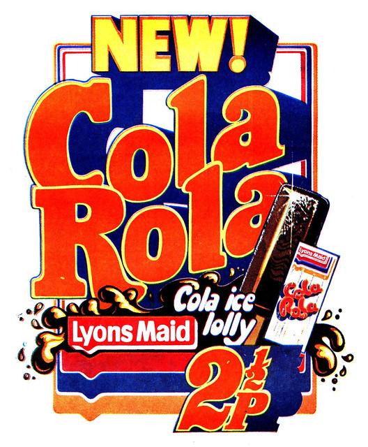 Lyons Maid Cola Rola Ad 1971