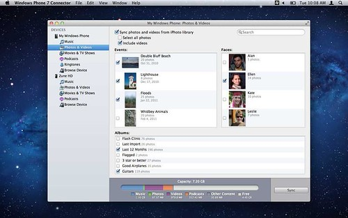 Windows Phone 7 Connector for Mac_02