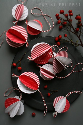 DIY Christbaumkugeln