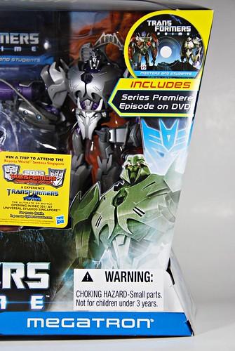 Transformers Prime: Optimus Prime vs Megatron