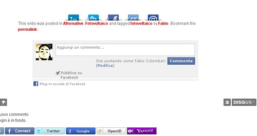 Commenti Facebook in WordPress