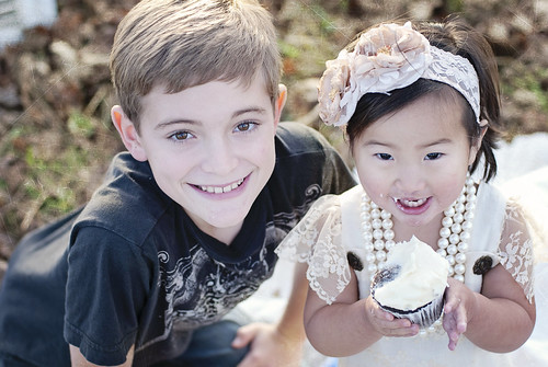 spencer and lily cupcake