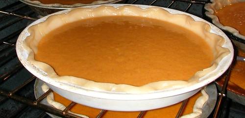 Nov 23 2011 pumpkin pie
