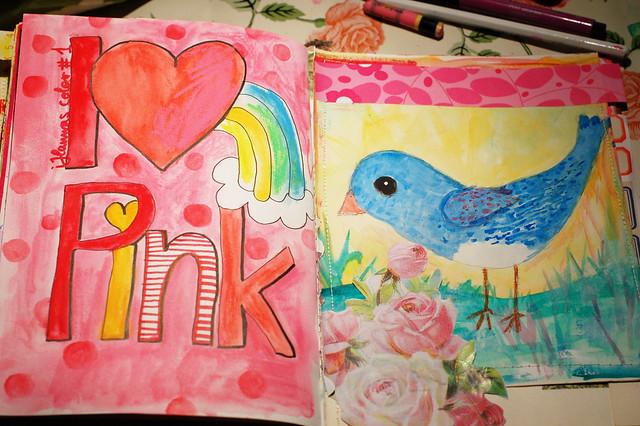 I really love pink