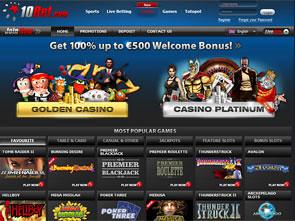 10Bet Casino Home