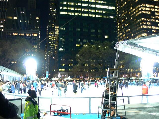 Byrant Park Ice rink