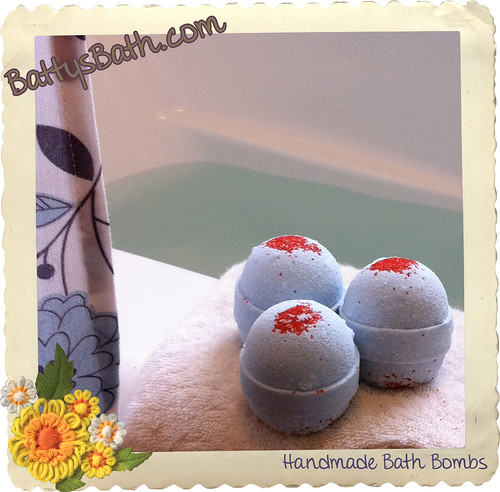 Bath Bombs - Christmas Crush - Berry Cherry