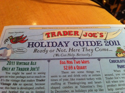 Top 10 Trader Joe's Wines: 2011 Holiday Edition