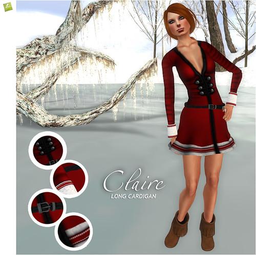 BOUNCE CLAIRE Cardigan-Santa