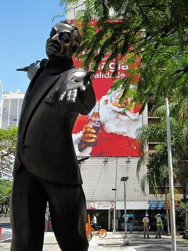 2011 Santa Claus Coca-Cola Billboard and Braguinha composet Copacabana - Rio de Janeiro 1 by roitberg