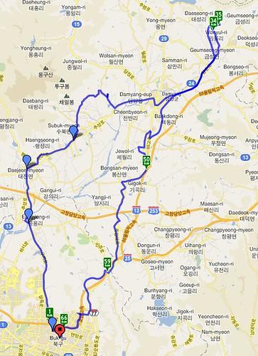 geumseong map