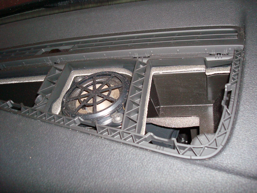 Front Dash Speaker Cover Removal 2011 Audi A4 Audio Wiring